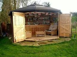 outside enclosed patio ideas man cave