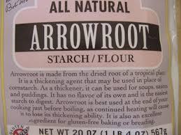arrowroot flour for healthy gluten free