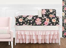black blush pink and gold shabby chic