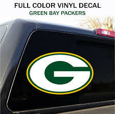Green Bay Packers Window Decal Graphic Sticker Car Truck Suv 12 Wide Ebay