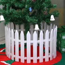 10pcs White Plastic Picket Fence Miniature Home Garden Christmas Xmas Tree Wedding Party Decoration 11 6 Inches Tall Walmart Canada