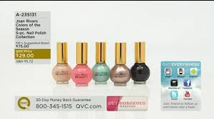 nail polish on qvc accessorywiz