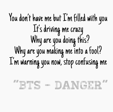 bts danger discovered by kpop fans ♡ on we heart it