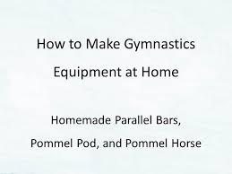 gymnastics equipment parallel bars