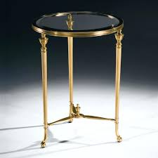 round brass table mucanje