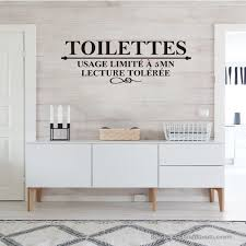 French Humor Toilet Usage Restrictions 5 Mn Toilet Wall Decals Toilet Wc Vinyl Wall Stickers Art Wallpaper Home Decoration Wish