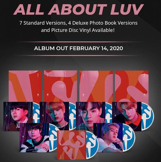 Image result for monsta x all about luv""