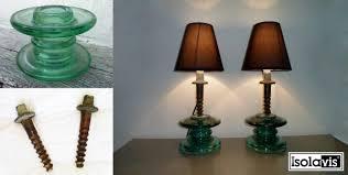repurpose old glass insulators
