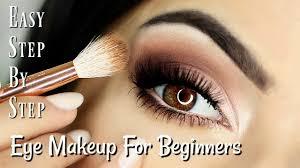 beginners eye makeup tutorial soft