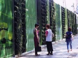 Temporary Living Wall For Construction Site Fence Design Garden Fence Panels Fence Landscaping
