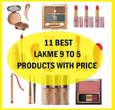 lakme 9 to 5 s list