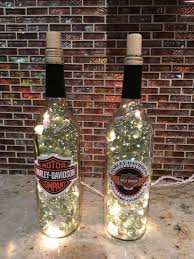 Harley Davidson Lighted Marble Filled Bottles Bottles Decoration Harley Harley Davidson