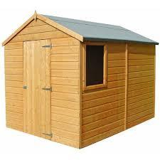 8 x 6 durham shiplap shed durh0806dsl 1aa