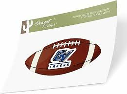 Grand Valley State University Gvsu Lakers Football Sticker Ebay