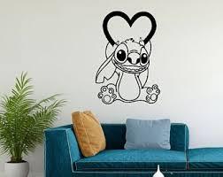Stitch Wall Decal Etsy