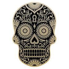 10 2cm 15 6cm Day Of The Dead Decal Rockabilly Rock Vintage Sugar Skull Car Window Lnterest Reflective Sticker C1 7062 Car Stickers Aliexpress