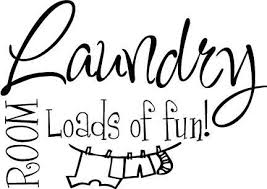 Laundry Room Loads Of Fun Vinyl Sticker Decal Wall Quote Decor Cursive Cute Large Wall Art Decals Large Wall Art Stickers From Home1688 14 71 Dhgate Com