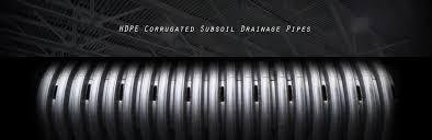 hdpe corrugated subsoil drainage pipes