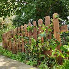 Antiseptic Wood Fence Outside Garden Fence Outside Garden Fence Outside Vegetable Garden Small Fence Shopee Malaysia