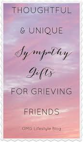 thoughtful sympathy gift ideas