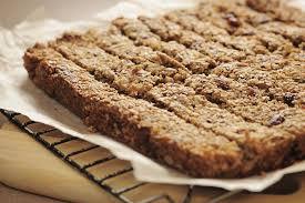 gluten free homemade granola bar recipe