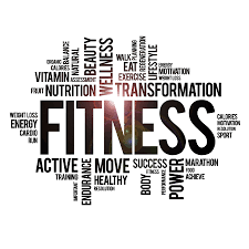 Vinyl Wall Decal Fitness Words Cloud Healthy Lifestyle Wellness Gym Mo Wallstickers4you