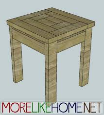 build a craftsman style end table