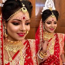 top 10 bridal makeup artists in kolkata
