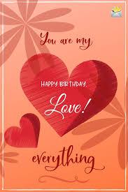 happy birthday my love romantic