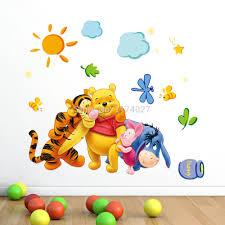 طفل الدب الكرتون Diy خلفيات للأطفال غرف نوم أريكة منزل الديكور