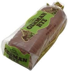 lewis german rye bread 16 oz