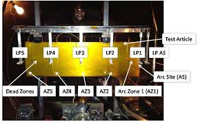 Solar Array Operation in HCT Plume: Electrosstatic Discharge Generated  Plasma Expansion Velocity Measurements