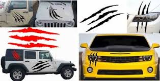 Www Fixikm Com Graphics For Car And Truck Vinyl Decal Graphics For Car Suv Truck Boat Trailer Rv American Flag Mud Splash Monster Claw Scratch Decal Headlight Car Decoration Vinyl Sticker Mountain Tree