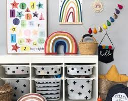 Kids Room Storage Etsy