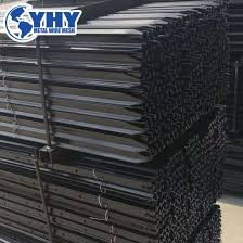 China Heavy Duty Y Type Star Fence Post With Holes Made By Iso9001 Manufacturer For Hinge Joint Farm Fence China Fence Post Y Picket Fence Posts