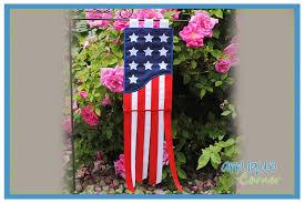 american flag garden flag design