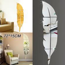 wall sticker home decorative mirror