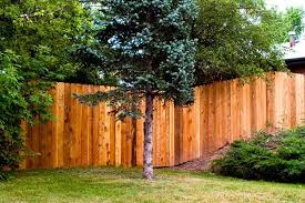 Fence How To Installing A Fence On A Slope Glennstone Fence Springfield Mo Landscaping On A Hill Building A Fence Wooden Fence