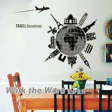 Travel Around The World Glue In The Dark Wall Art Decal Sticker Luminous Travel Around The World Wall Stickers Decor Black Wall Art Stickers Black Wall Decals From Magicforwall 2 98 Dhgate Com