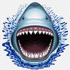 Shark Jaws Jeep Wrangler Car Sharks Animals Electric Blue Png Pngegg