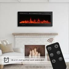 color electric fireplace