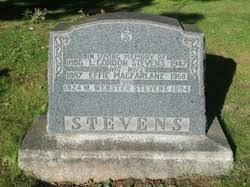 Effie MacFarlane Stevens (1887-1968) - Find A Grave Memorial