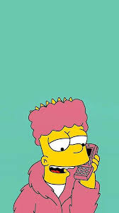 bart simpson wallpaper for iphone x 8