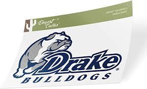 Amazon Com Drake University Bulldogs Ncaa Vinyl Decal Laptop Water Bottle Car Scrapbook Sticker 00001 Computers Accessories