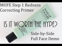 mufe step 1 redness correcting primer
