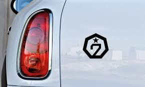 Amazon Com Got7 Logo Car Vinyl Sticker Decal Bumper Sticker For Auto Cars Trucks Windshield Custom Walls Windows Ipad Macbook Laptop Home And More Black Automotive