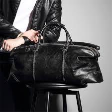 bag leather travel bag cross