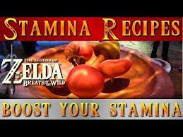zelda breath of the wild stamina