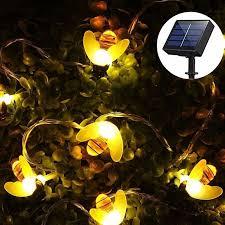 solar string lights outdoor solar
