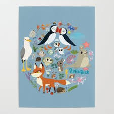 Puffin Rock S Store Society6
